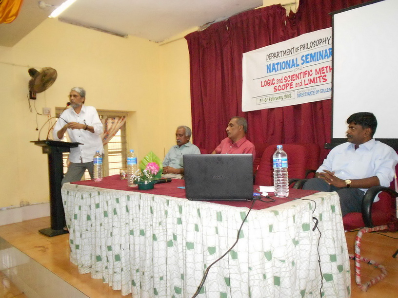 National Seminar on Logic and Scientific Method